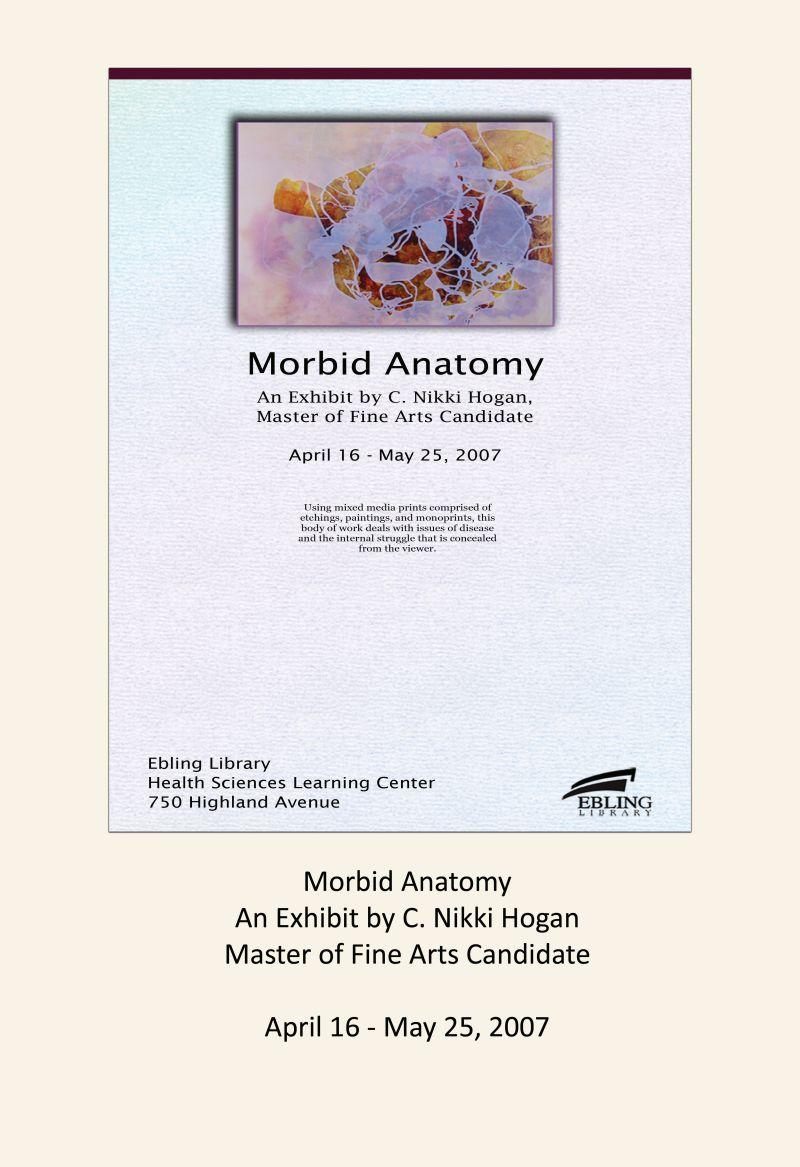 Morbid Anatomy C. Nikki Hogan